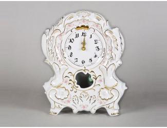 Часы каминные 32см Leander Мелкие цветы декор 0158
