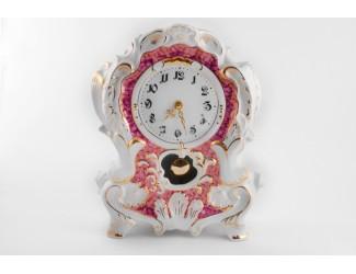 Часы каминные 32см Leander Розовый мрамор