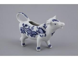 Сливочник-корова 0,07л Leander Мэри-Энн Гжель(Луковый рисунок)