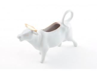 Сливочник-корова 0,07л Leander Соната Отводка золото
