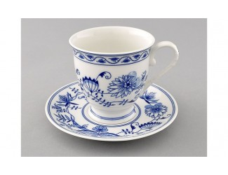 Чайная пара 300мл Leander Мэри-Энн Гжель (Луковый рисунок) декор 0055