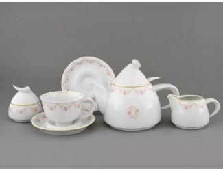 Сервиз чайный 15 предметов 6 персон Leander Кельт Мелкие цветы 0158