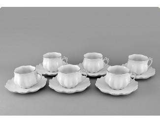 Набор чайных пар на 6 персон 12 предметов 0,20л Leander Викториа