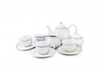 Чайный сервиз на 4 персоны 11 предметов Leander Hyggelyne, голубой