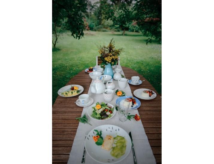 Набор тарелок 12шт Leander BeFree на 4 персоны декор 2826