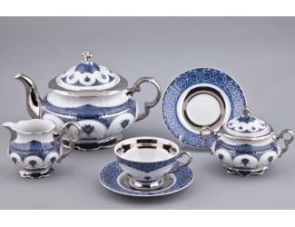 Сервиз чайный Rudolf Kampf Национальные традиции 15 предметов 6 персон (линия Иран) 07160725-2145