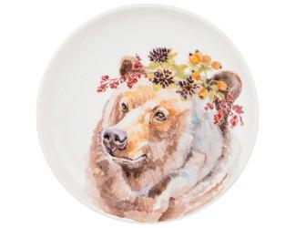 Тарелка 19см Lefard Лесная сказка Медведь 409-155