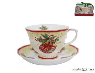 Чайная пара 250 мл Lenardi Новогодний 105-030