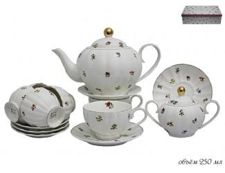 Чайный сервиз на 6 персон 16 предметов Lenardi Полевые цветы 105-053