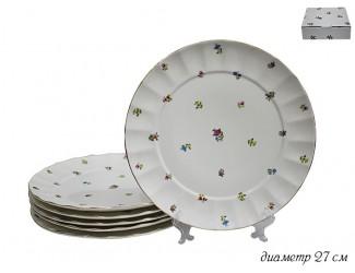 Набор из 6 тарелок 27см Lenardi Полевые цветы 105-071