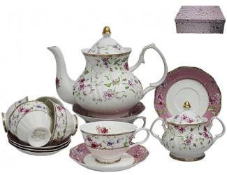 Чайный сервиз на 6 персон 16 предметов предметов Lenardi Розали 105-087