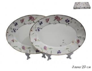 Набор из 2 овальных блюд 29см Lenardi Флоренс 105-093