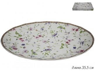 Овальное блюдо 35,5см Lenardi Розали 105-094