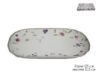 Блюдо прямоугольное 25см Lenardi Флоренс 105-109