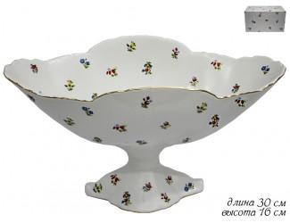 Фруктовница на ножке 30см Lenardi Полевые Цветы 105-201