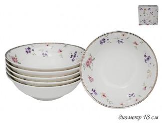 Набор из 6 салатников 18см Lenardi Флоренс 105-272
