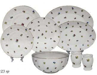 Обеденный сервиз на 6 персон 23 предмета Lenardi Полевые Цветы 105-274