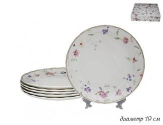 Набор из 6 тарелок 19см Lenardi Флоренс 105-281