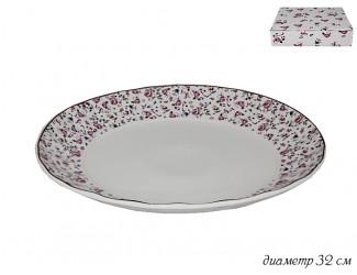 Блюдо 32см Lenardi Розовый сад 105-402