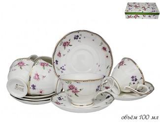 Набор кофейных пар 12 предметов Lenardi Флоренс 105-415