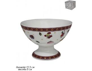 Креманка 11,5см Lenardi Новогодний 105-600