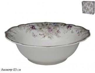 Салатник 23см Lenardi Хризантемы 105-635
