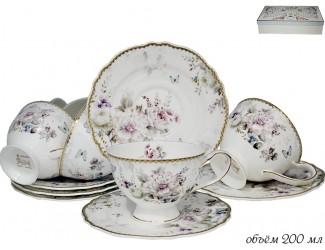 Набор чайных пар 12 предметов Lenardi Хризантемы 108-218