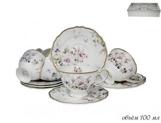 Набор кофейных пар 12 предметов Lenardi Хризантемы 108-220