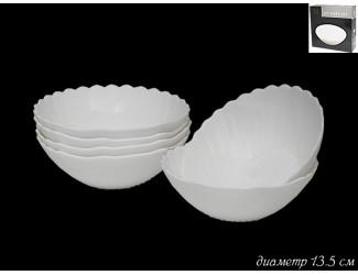 Набор из 6 салатников 13.5см Lenardi Ракушка 116-100