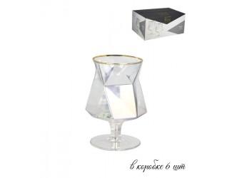 Набор из 6 бокалов для коньяка Lenardi Diamond  300мл 121-004