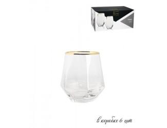 Набор из 6 бокалов для воды Lenardi Diamond  250мл 121-005