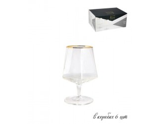 Набор из 6 бокалов для коньяка Lenardi Diamond  400мл 121-008
