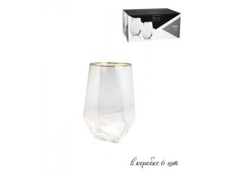 Набор из 6 стаканов для воды Lenardi 700мл Diamond 121-013