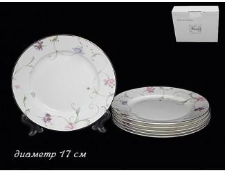 Набор 6 тарелок 17см Lenardi Английский сад 125-148