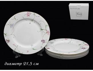 Набор 6 тарелок 21,5см Lenardi Английский сад 125-152