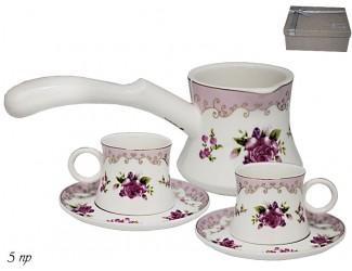 Кофейный набор на 2 персоны 5 предметов Lenardi 181-035