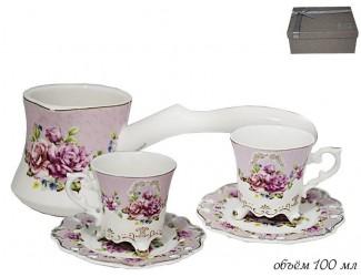 Кофейный набор на 2 персоны 5 предметов Lenardi 181-036