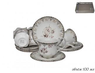 Кофейный набор на 6 персон 12 предметов Lenardi 181-038