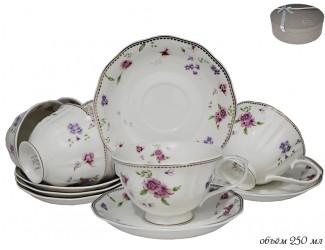Набор чайных пар 12 предметов Lenardi Флоренс 181-039