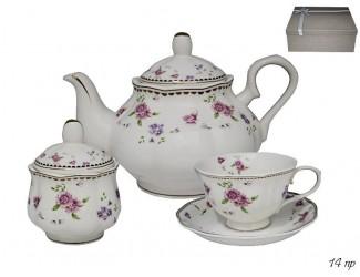 Набор чайных пар 12 предметов Lenardi Флоренс 181-040