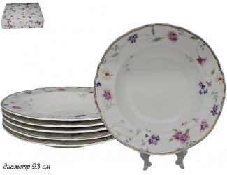 Набор из 6 глубоких тарелок Lenardi Флоренс 181-105