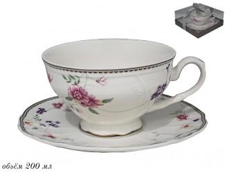 Чайная пара 200мл Lenardi Флоренс 181-109