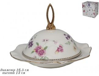 Блюдо с крышкой 16,5см Lenardi Флоренс 181-119