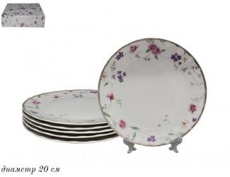 Набор тарелок 6 шт 20см Lenardi Флоренс 181-149