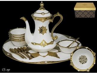 Чайный сервиз на 6 персон 15 предметов Lenardi Византия 224-085