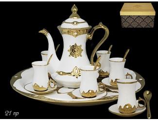 Чайный сервиз на 6 персон 21 предметов Lenardi Византия 224-086