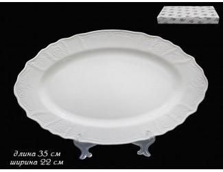 Овальное блюдо 35 см Lenardi Maria 226-018