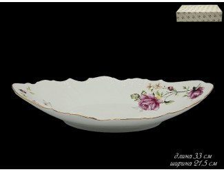 Овальное блюдо Lenardi Maria Rose 226-078