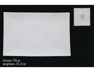Блюдо 39см Lenardi Белая Роза 555-041