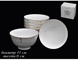 Набор 6 салатников 11см Lenardi Президентский 555-062